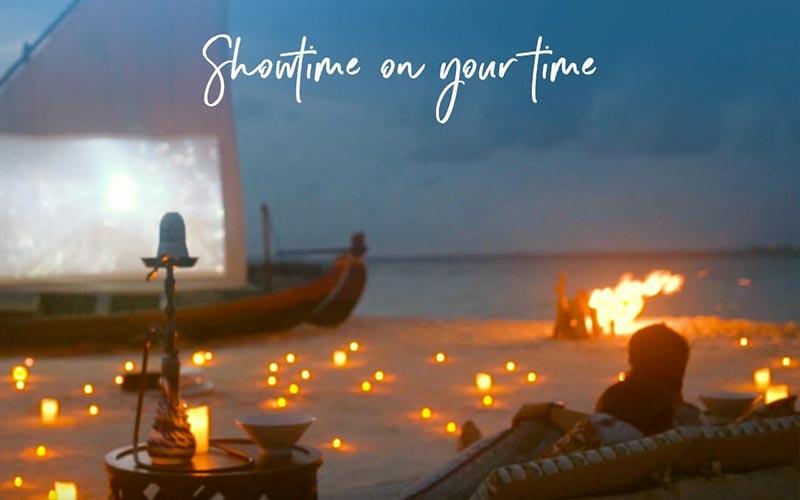 Movies Under the Stars  at The Nautilus Maldives